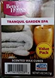 Better Homes and Gardens Value Wax Cubes, Tranquil Garden Spa