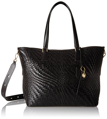 Cole Haan Genevieve Key Item Tote, Black, One Size