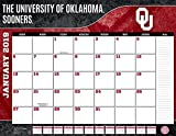 Turner 1 Sport Oklahoma Sooners 2019 22X17 Desk Calendar Office Desk Pad Calendar (19998061485)