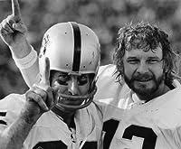 Ken Stabler & Fred Biletnikoff Oakland Raiders 8x10 Sports Action Photo