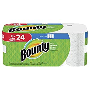bounty paper towels bounty paper towels select a size 8 31051