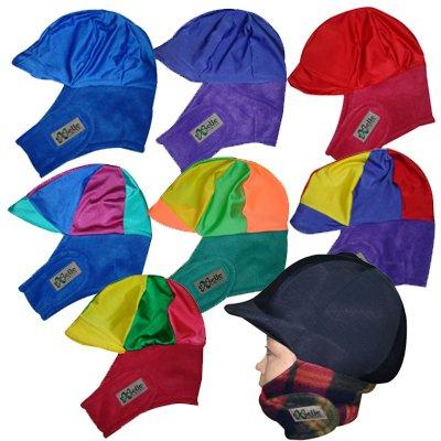 Equestrian Helmets Exselle Winter Riding Helmet Cover, -