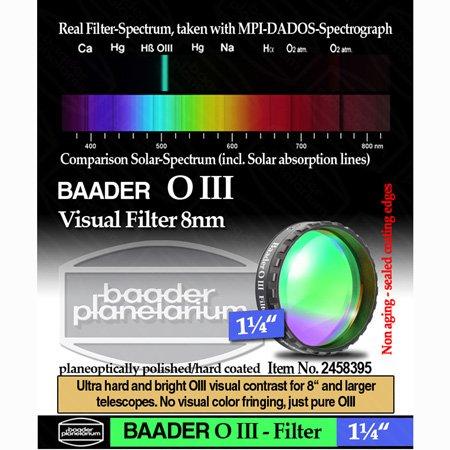 Baader O-III Nebula Filter - 1.25'' # FOIII-1 2458395 by Baader Planetarium