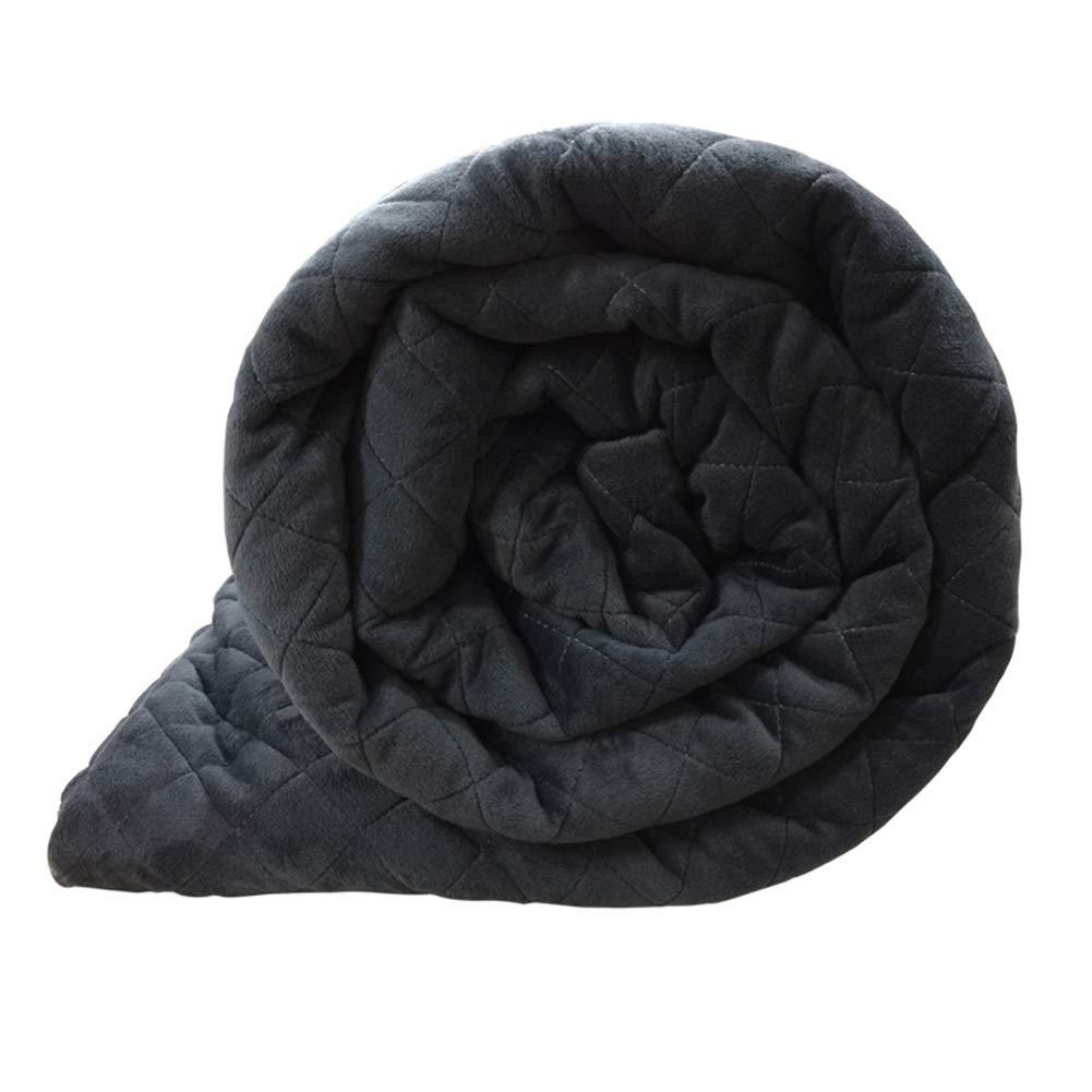 Gewichtete Decke Crystal Velvet Bettbezug Decken Winter Gravity Quilt Bettdecke Schlaf-Therapie Für Angst Schlaflosigkeit Stress,122  183Cm