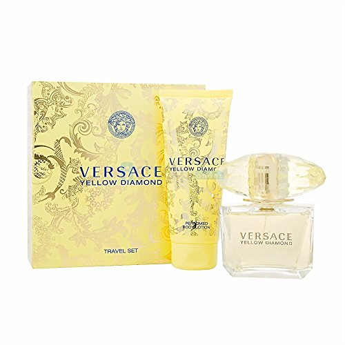 Versace Yellow Diamond By Versace For Women – 2Pc Gift Set