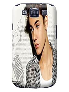 2014 New Dirtproof Snowproof fashionable TPU Cool Justin Bieber Protection Case for SamSung Galaxy s3 wangjiang maoyi