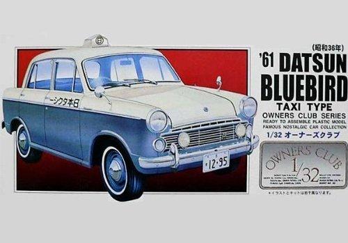 マイクロエース 1/32 オーナーズクラブシリーズ No.62 `61 ブルーバード タクシー