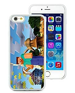 Personality customization Grace Protective DIY Case Minecraft Game White Cover for iPhone 6 4.7 inch 063