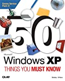 50 Microsoft Windows XP Things You Must Know, Shelley O'Hara, 0789732831