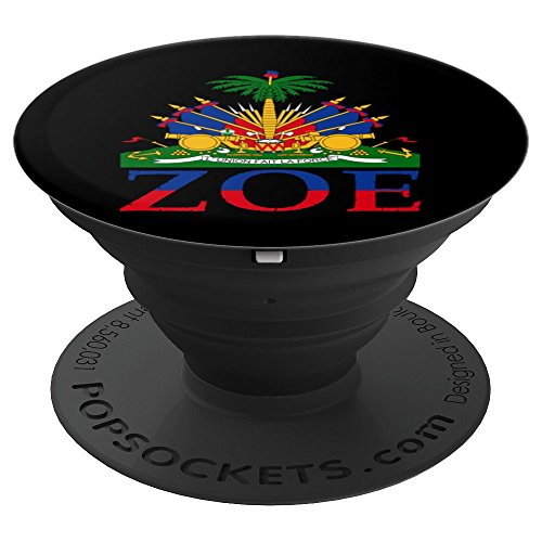 Zoe Art | Cute Haiti Honored Flag Day Design Gift - PopSockets Grip and Stand for Phones and -