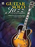 img - for Guitar Solo Jazz Standards by Jerry Silverman (2003-04-01) book / textbook / text book