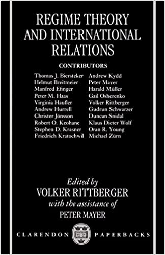 Amazon com: Regime Theory and International Relations
