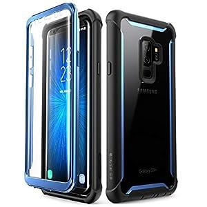 i-Blason Coque Samsung S9+ Plus, Coque Intégrale Anti-Choc avec Protecteur d'écran Intégré [Série Ares] pour Samsung…