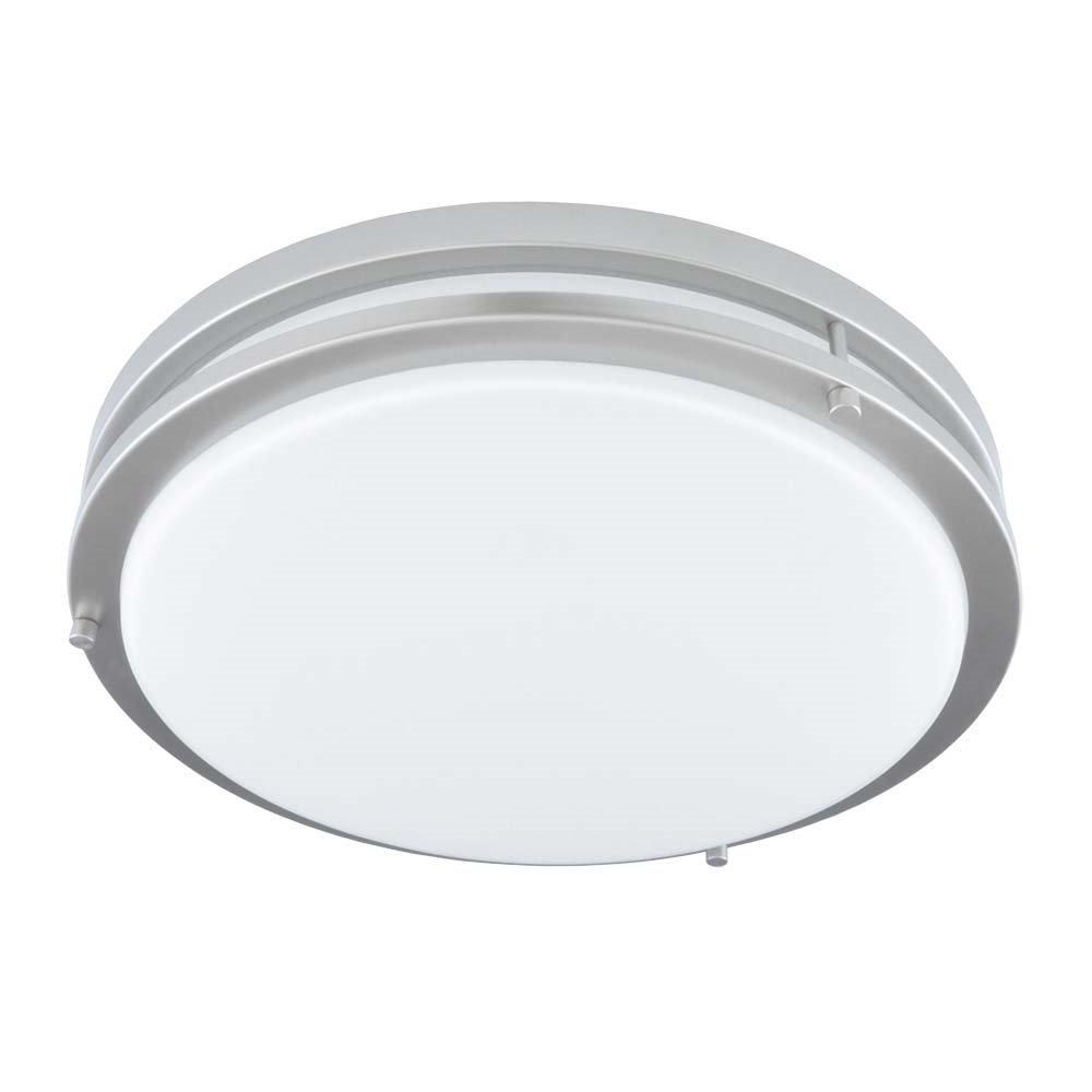 Good Earth Lighting Jordan 11-inch LED Flush Mount Light - Brushed Nickel