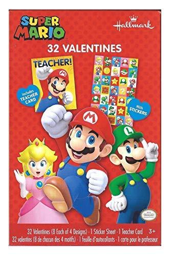 Super Mario Valentines Cards -