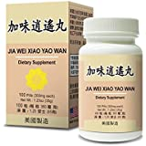 Jia Wei Xiao Yao Wan Herbal Supplement Helps for Irritability Anger, Fatigue Abnormal Sweating 350mg 100 Pills Made In USA