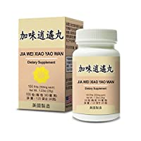 Jia Wei Xiao Yao Wan Herbal Supplement Helps for Irritability Anger, Fatigue Abnormal...