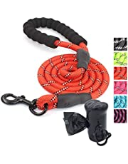 Ozpaw Dog Leash Long Durable Highly Reflective Lightweight Lead for Small Medium and Large Dogs
