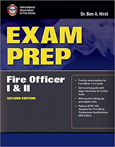 exam prep fire officer i ii exam prep jones bartlett