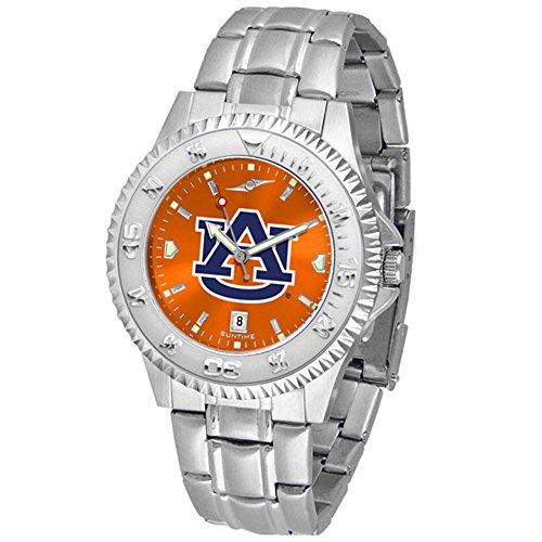 (Linkswalker Mens Auburn Tigers Competitor Steel Anochrome Watch )