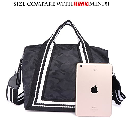 Bag Roomy Bag Tote Ladies' Satchel 6201854 Women Black Top PU Handbag Fashion Hobo Handle Bag Street Shoulder Tq8qSwt