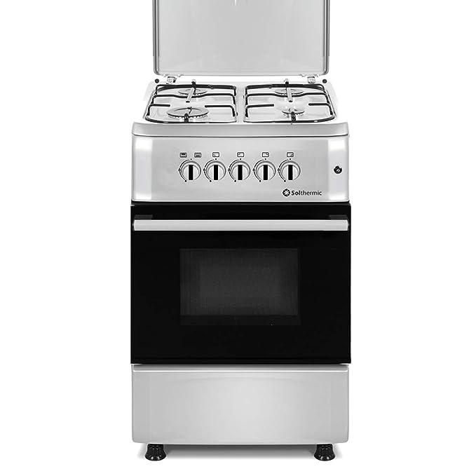 SOLTHERMIC COCINA F5S40G2I INOX: Amazon.es: Grandes electrodomésticos