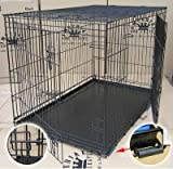 30″ Medium Imperial Folding Dog Crate (D802)