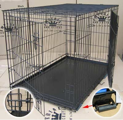 Cheap 30″ Medium Imperial Folding Dog Crate (D802)