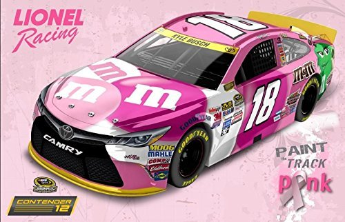 Lionel Racing Kyle Busch 2015 M&M's Paint The Track Pink 1:64 Nascar Diecast