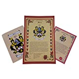 Drozd Coat of Arms, Family Crest and Name History - Three Print Combo - Poland Origin