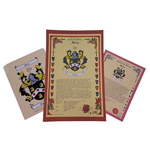 D'Abancourt Coat of Arms, Family Crest and Name History - Three Print Combo - France Origin