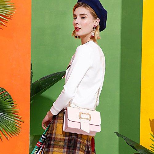Leisure Bag Ladies Pin Sweet Fashion Buckle Bag Chain Gmyan Shoulder x7IwExF