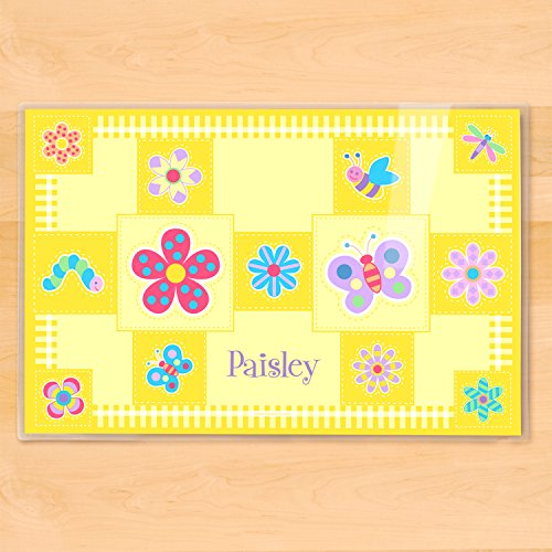 Flowerland Kids Olive - Olive Kids Flowerland Personalized Placemat