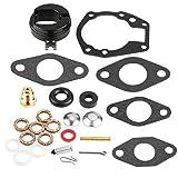 Aramox Carburetor Repair Kit, 25pcs Carburetor Carb Repair Rebuild Kit for 439071 0439071