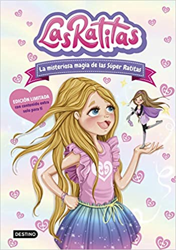 Book's Cover of Las Ratitas 3. La misteriosa magia de las Súper Ratitas. Edición especial (Youtubers infantiles) (Español) Tapa dura – 10 noviembre 2020