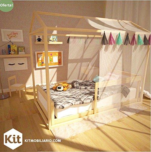 Casa De Sueños Individual para Cama Montessori Nordica Kit