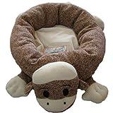 Sock Monkey Maxx Dog or Cat Pet Bed