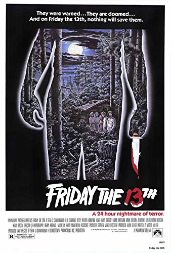 Friday the 13th Movie Poster   - by MG Poster