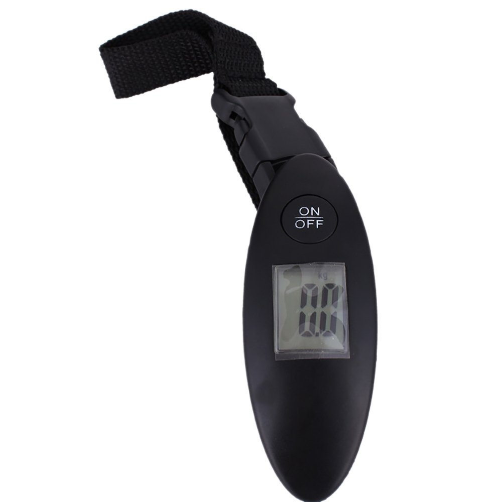 Souarts Luggage Scale Travel Digital Scale Handle Portable MeasureOutdoor Home with Tare for Luggage Bag