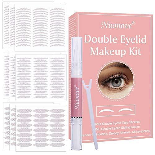 Pegatinas de Doble Párpado, Cinta de Doble Párpado, Double Eyelid Stickers, Double Eyelid Styling Cream, Adhesivo de…