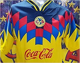 892ae2b60f5 Throwback Club Aguilas del America Soccer Retro Jersey 1995 (L) Misc.