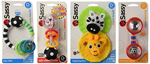 Phone Rattle (Sassy Newborn Gift Set)