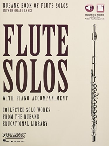 (Rubank Book of Flute Solos - Intermediate Level: Book with Online Audio (stream or download))