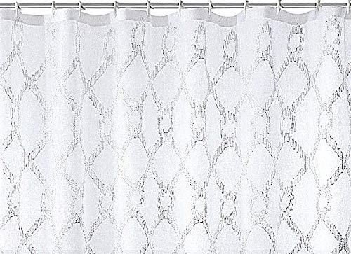 Decorative Sheer Fabric Shower Curtain: ...