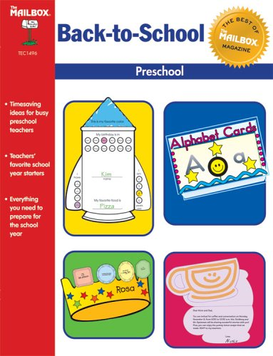 The Best of The Mailbox Back-to-School, Preschool