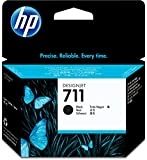 HP HEWCZ133A 711 80-ml Black Ink Cartridge, Black