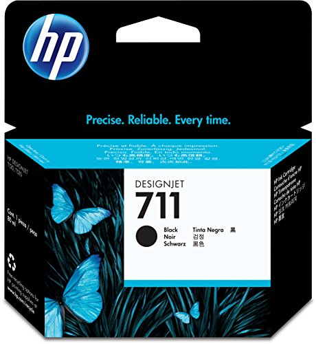 HP 711 80-ml Black Designjet Ink Cartridge (CZ133A) for HP DesignJet T120 24-in Printer HP DesignJet T520 24-in Printer HP DesignJet T520 36-in PrinterHP DesignJet printheads help you respond quickly by providing quality speed and easy hassle-free printin by HP