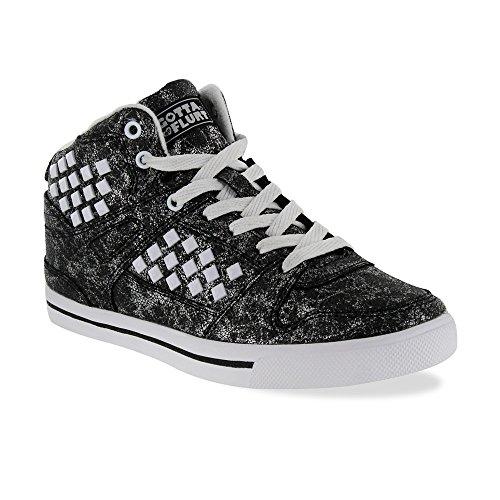 Moet Flirt Hiphop Hd Damessneaker, Zwart / Wit - 5.5