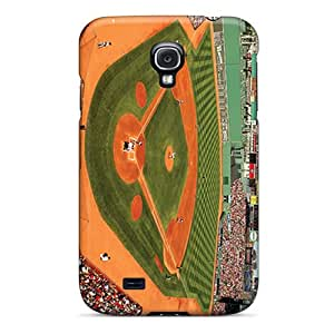 Samsung Galaxy S4 Euw10338RPAO Support Personal Customs Trendy Boston Red Sox Pattern Shock Absorption Cell-phone Hard Cover -DannyLCHEUNG