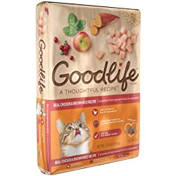 The Goodlife Recipe Dry Cat Food Chicken, 22 Pound